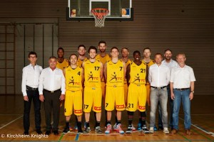 Kirchheim Knights Teamportrait
