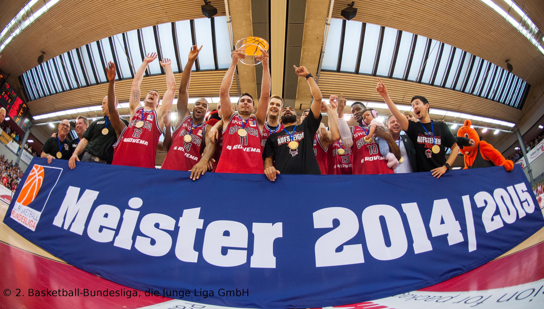 ProA Meister 2014/2015: GIESSEN 46ers