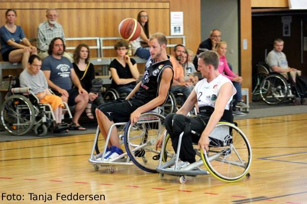 Rollstuhlbasketball Action
