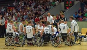 Rollstuhlbasketball - Team Germany