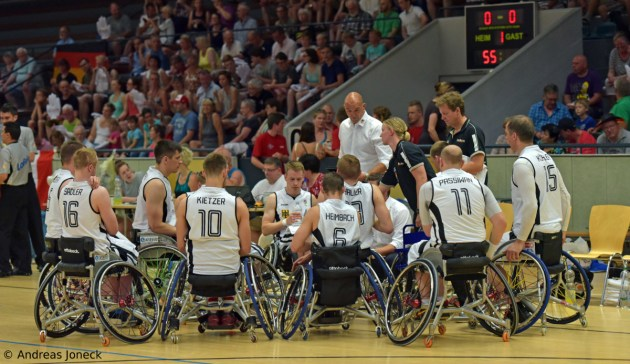 Rollstuhlbasketball - Team Germany