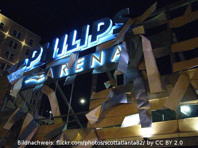 Die Heimat der Hawks – die Philips Arena