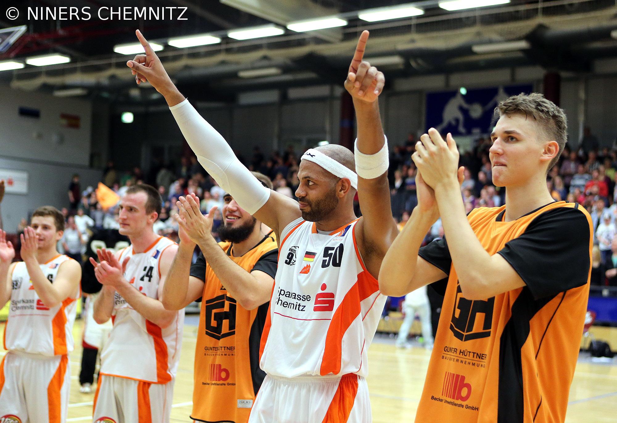 NINERS Chemnitz stellen neuen Partner vor