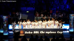 Champions Cup Sieger Brose Baskets Bamberg 2