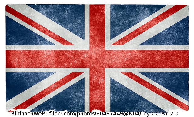 Flagge UK - Flagge Grossbritannien