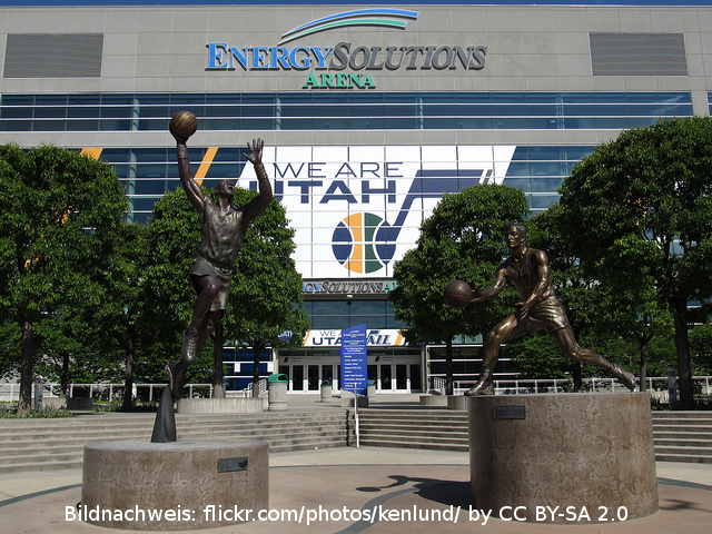 Energy Solutions Arena - Utah Jazz