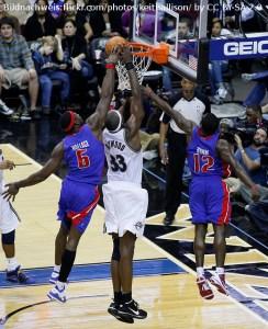 NBA - Detroit Pistons - Ben Wallace