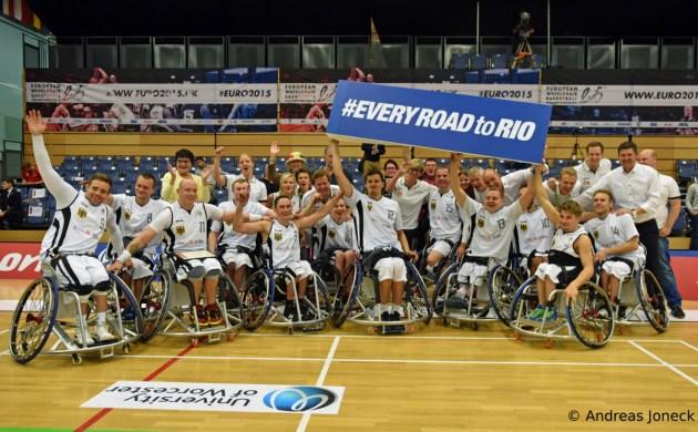Rollstuhlbasketball - Road to Rio