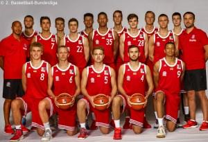 DE - Teamfoto - FC Bayern Basketball II 2016-2017