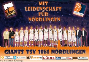 DE - Teamfoto - Giants TSV 1861 Nördlingen 2016-2017
