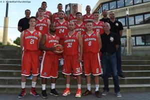 DE - Teamfoto - Uni Baskets Paderborn 2016-2017