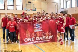 DE - NBBL - FC Bayern Basketball - Teamfoto