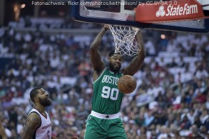 US - Action - Boston Celtics - Amir Johnson