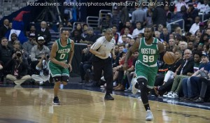 US - Action - Boston Celtics - Avery Bradley - Jae Crowder