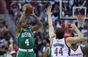 US - Action - Boston Celtics - Isaiah Thomas