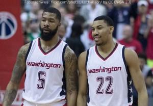 US Action - Washington Wizards - Markieff Morris - Otto Porter Jr