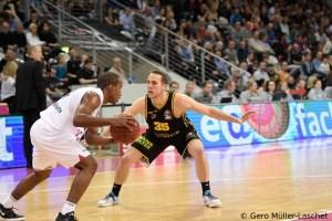 DE - Action - MHP RIESEN Ludwigsburg - Brad Loesing