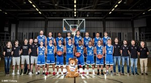 BBC Coburg - Kader 2017-18 - ProB - Teamfoto