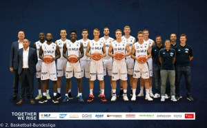 DE - ProA - Teamfoto - MLP Academics Heidelberg 2017-2018
