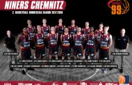 Neuzugang für die NINERS Chemnitz