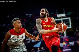 EuroBasket 2017 - Action - Ricky Rubio gegen Maodo Lo