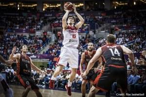 EuroBasket 2017 - Action - Türkei - Wurf Cedi Osman