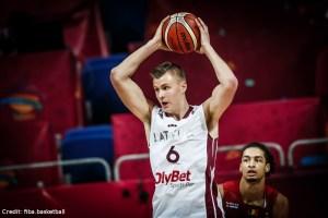 Eurobasket 2017 - Action - Lettland - Kristaps Porzingis