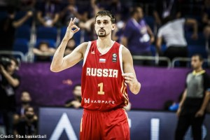Eurobasket 2017 - Action - Russland - Aleksei Shved