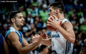 Eurobasket 2017 - Action - Slowenien - Gasper Vidmar