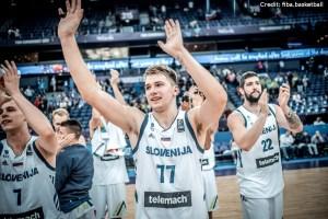 Eurobasket 2017 - Action - Slownien - Luka Doncic