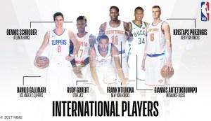US - NBA - International Players