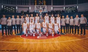 FIBA Qualifikation - Spanien - Teamfoto