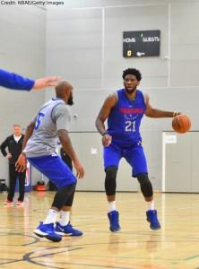 US - NBA - Philadelphia 76ers - Joel Embiid