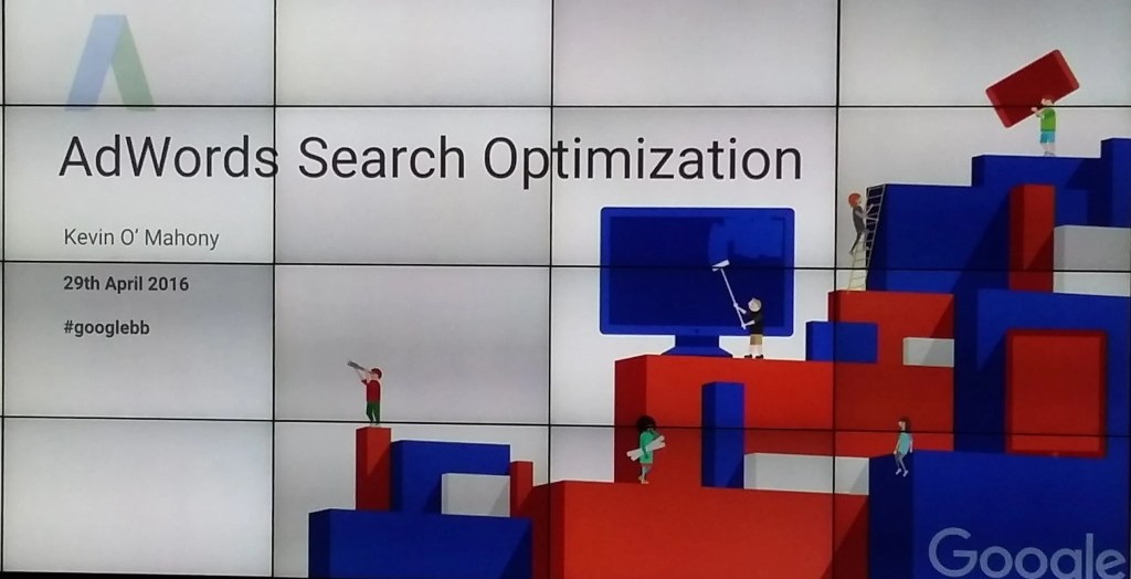 Google Briefing AdWords Optimisation