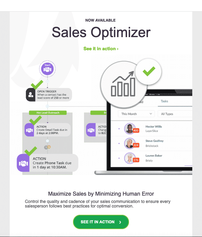 Sales Optimizer by SharpSpring bbmm