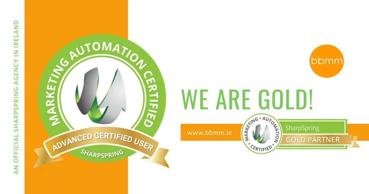 Gold Certification In Marketing Automation