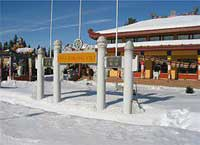 Buddhism emerging in the land of the midnight sun