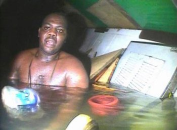 Man Trapped in the bottom of Atlantic Rescued after 3 Days