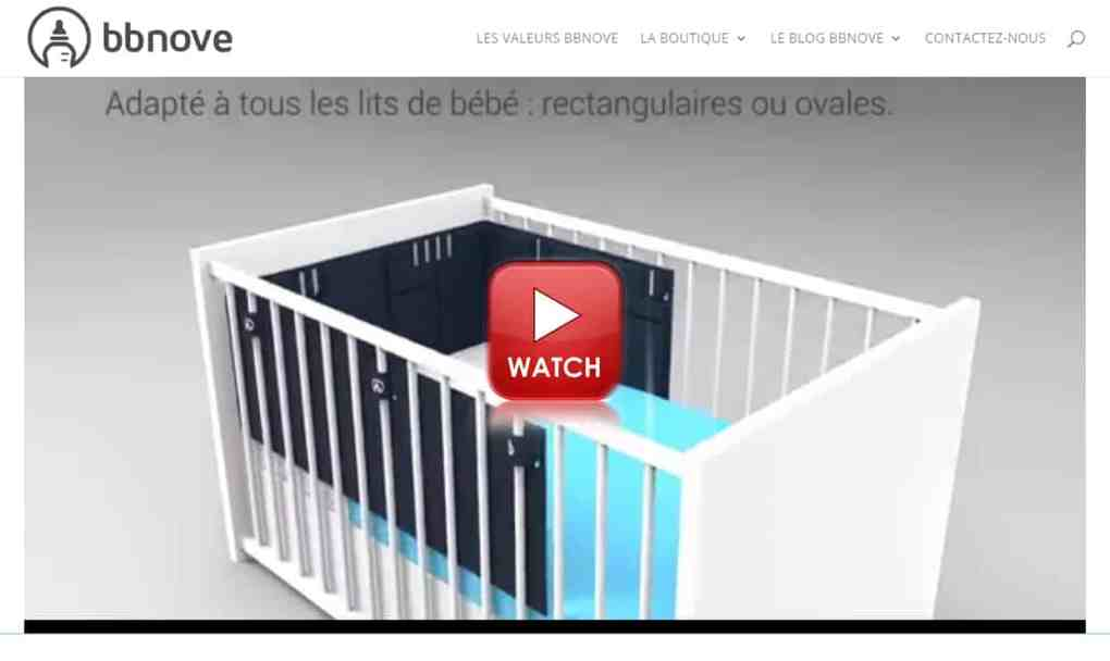 bbnove e-shop puériculture design - concept store made in france pour bébés bbnove e-shop puériculture design - concept store made in france pour bébés Bump de bbnove, le tour de lit pour bébé anti-suffocation