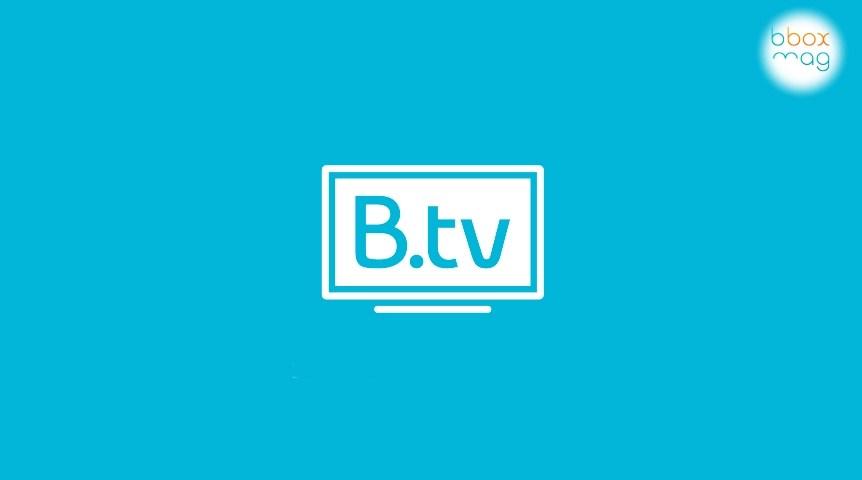 application btv pour windows 10