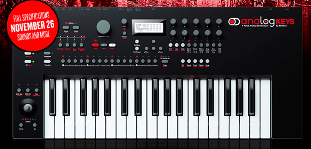 Elektron Introduces The All New Analog Keys