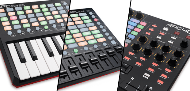New APC Lineup from AKai Pro - APC40 MKII, APC Key 25 & APC MINI
