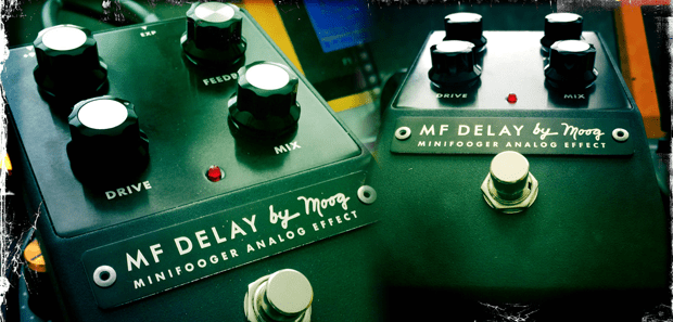 Moog Minifooger MF Delay Review