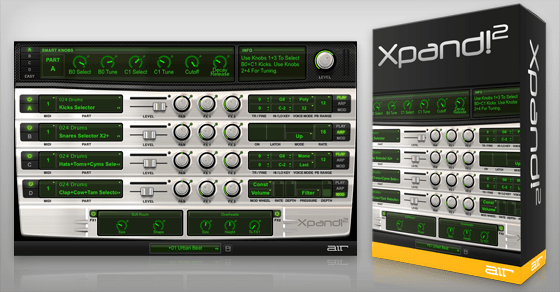 Acclaimed Xpand!2 Multitimbral Workstation Software