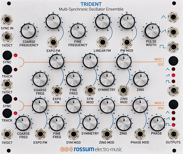 Rossum Electro-Music Introduces TRIDENT
