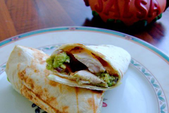 no-foul chicken fajitas