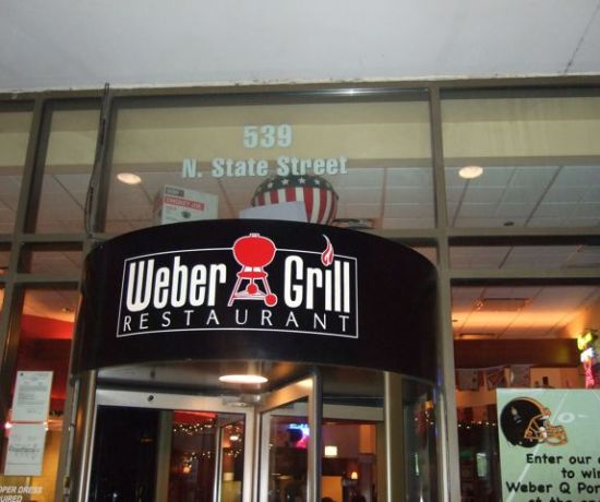 Weber Grill Restaurant Chicago