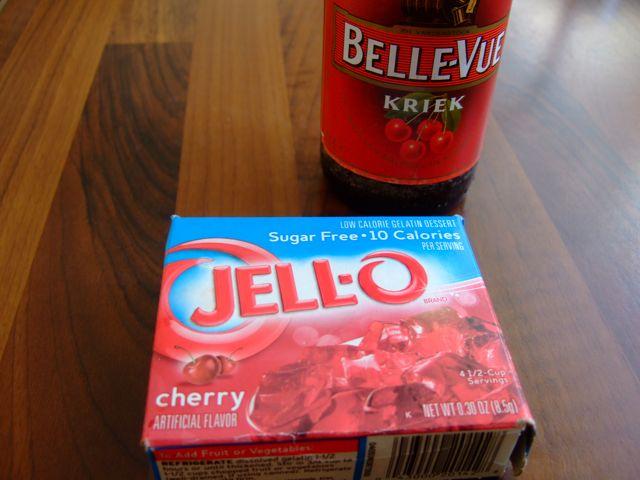 Niek's Cherry Ribs - Jello en kriekenbier