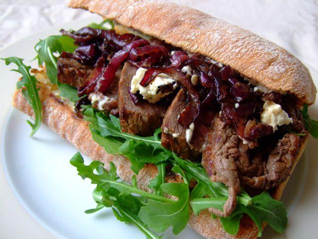 Guinness Biefstuk Sandwich