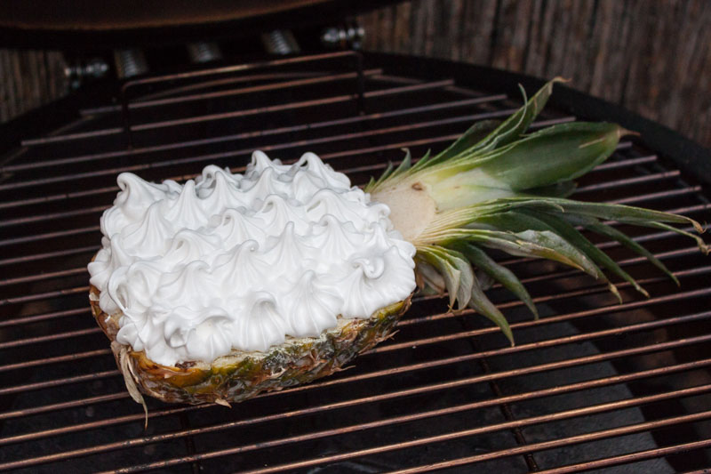 Baked Hawaii - de ananas